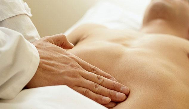 osteopata diaframma